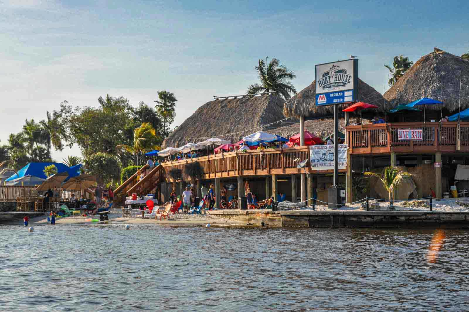Boathouse Tiki Bar Grill Cape Coral